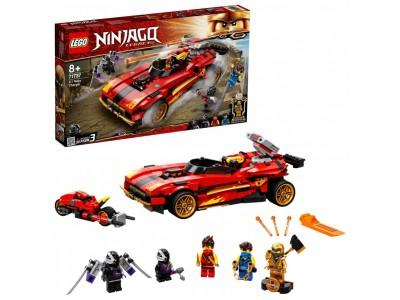 LEGO 71737 - Ниндзя-перехватчик Х-1