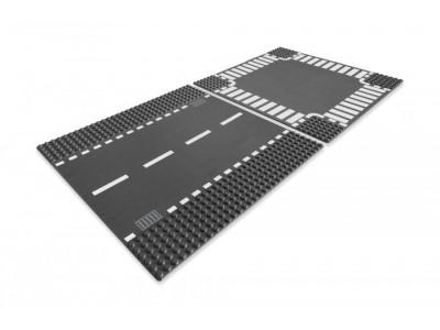 LEGO 7280 - Перекресток и дорога