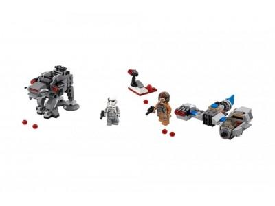 LEGO 75195 - Бой пехотинцев Первого Ордена против спидера на лыжах