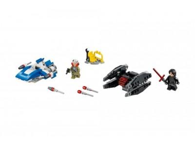 LEGO 75196 - Истребитель типа A против бесшумного истребителя СИД