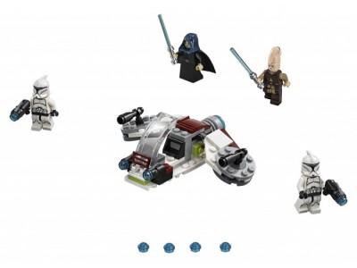 LEGO 75206 - Боевой набор джедаев и клонов-пехотинцев