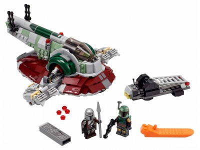 LEGO 75312 - Звездолет Бобы Фетта