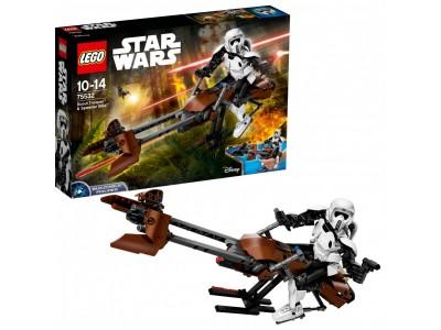 LEGO 75532 - Штурмовик-разведчик и Спидер байк