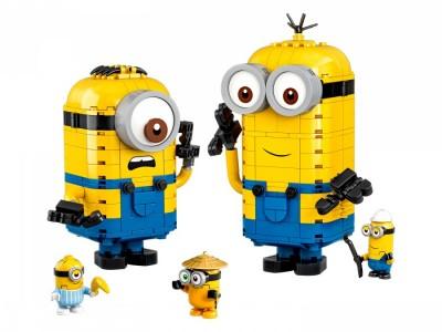 LEGO 75551 - Фигурки миньонов и их дом