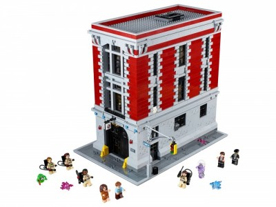 LEGO 75827 - Штаб-квартира охотников за привидениями