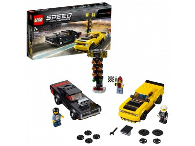 LEGO 75893 - Додж Чэленджер 2018 и Додж Чарджер 1970