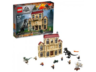 LEGO 75930 - Нападение индораптора в поместье Локвуд