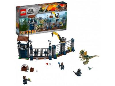 LEGO 75931 - Нападение дилофозавра на сторожевой пост