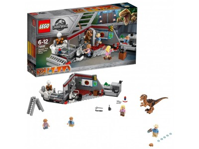 LEGO 75932 - Охота на рапторов в Парке Юрского Периода