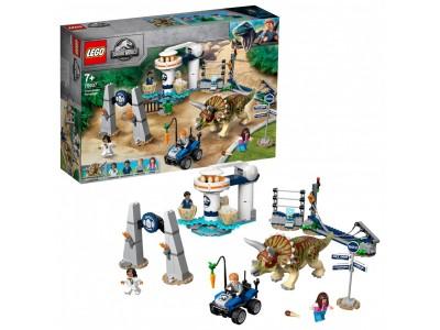 LEGO 75937 - Нападение трицератопса