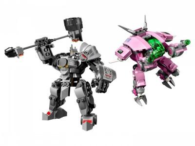 LEGO 75973 - D.Va и Райнхардт