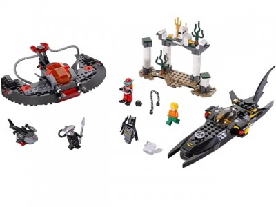 LEGO 76027 - Глубоководная атака Черного Манта