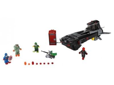 LEGO 76048 - Похищение капитана Америки