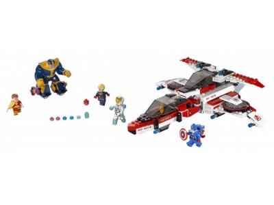LEGO 76049 - Реактивный самолёт Мстителей: космическая миссия