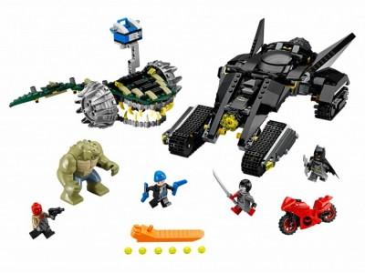 LEGO 76055 - Убийца Крок: Схватка в канализации