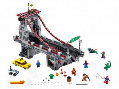 LEGO 76057 - Человек-паук: Паутинные войны - Сражение на мосту