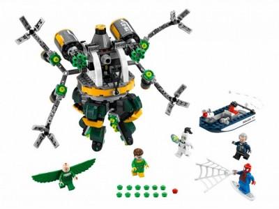 LEGO 76059 - Цепкие щупальца доктора Осьминога