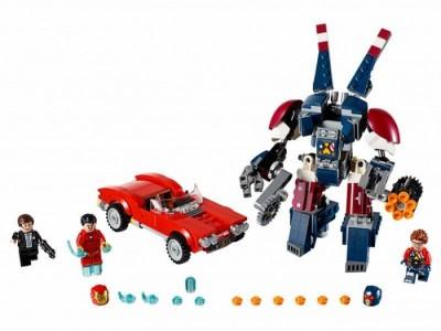 LEGO 76077 - Железный человек: Стальной Детройт наносит удар