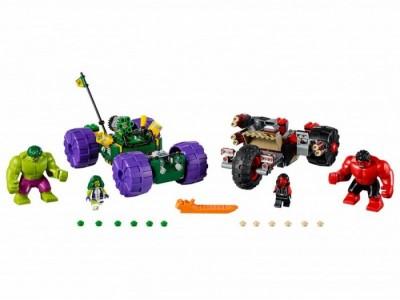 LEGO 76078 - Халк против Красного Халка
