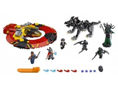 LEGO 76084 - Решающая битва за Асгард