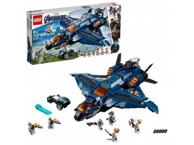 LEGO 76126 - Модернизированный квинджет Мстителей