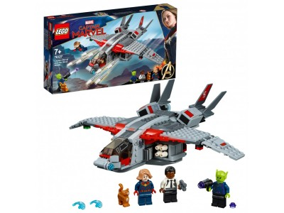 LEGO 76127 - Капитан Марвел и атака скруллов
