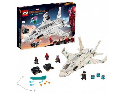 LEGO 76130 - Реактивный самолет Старка и атака дрона