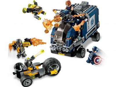 LEGO 76143 - Нападение на грузовик
