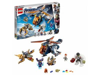 LEGO 76144 - Мстители: Спасение Халка на вертолёте