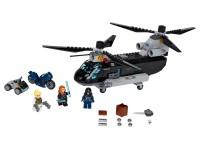 Погоня на вертолёте Чёрной вдовы