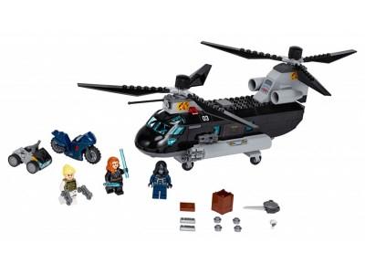 LEGO 76162 - Погоня на вертолёте Чёрной вдовы