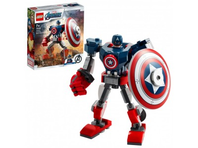 LEGO 76168 - Капитан Америка: Робот