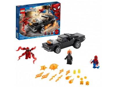 LEGO 76173 - Человек-Паук и Призрачный Гонщик против Карнажа