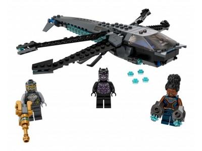 LEGO 76186 - Флайер Стрекоза Чёрной Пантеры