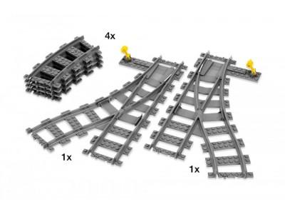 LEGO 7895 - Железнодорожные стрелки