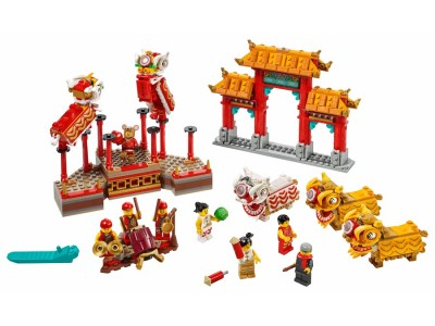 LEGO 80104 - Танец льва