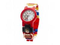 Часы LEGO Super Heroes с минифигурой Wonder Woman