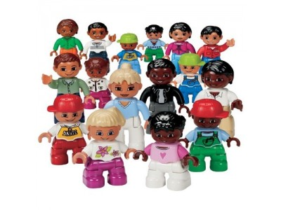 LEGO 9222 - Люди мира. DUPLO