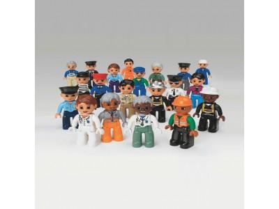 LEGO 9224 - Городские жители. DUPLO