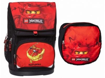 LEGO 16042 - Рюкзак и сумка для обуви LEGO NinjaGo Kai 30 л
