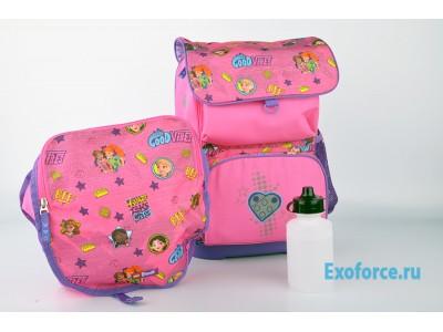 LEGO 200161915 - Рюкзак с сумкой для обуви Friends Good Vibe