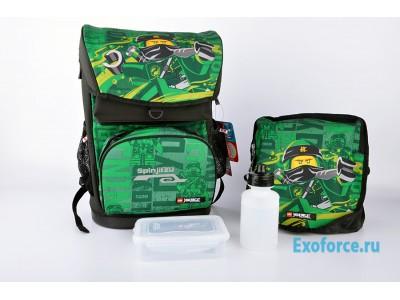 LEGO 200171908 - Рюкзак с сумкой для обуви Ninjago Energ