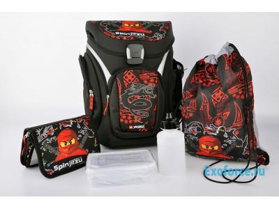 LEGO 201171809 - Рюкзак с сумкой для обуви,  пеналом  Ninjago