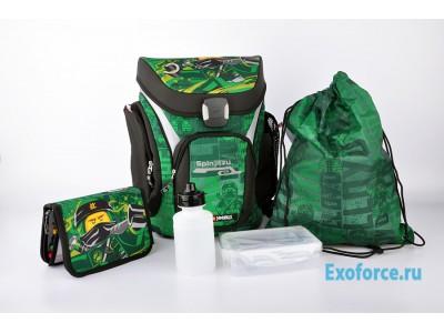 LEGO 201171908 - Рюкзак с сумкой для обуви,  пеналом  Ninjago
