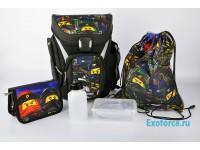 Рюкзак с сумкой для обуви,  пеналом  Ninjago