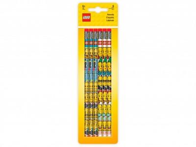 LEGO 51140 - Набор из 6 карандашей с ластиками