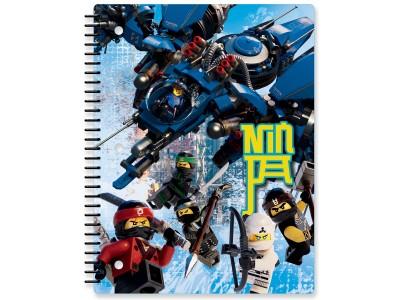 LEGO 51872 - Тетрадь LEGO Ninjago Movie