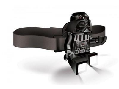 LEGO 3 - Налобный фонарик Lego Звездные Войны Дарт Вейдер