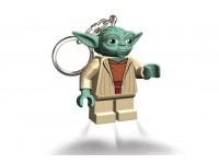 Брелок фонарик Lego Звёздные войны Йода