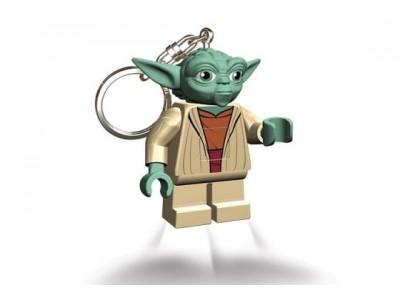 LEGO 11 - Брелок-фонарик Lego Звёздные войны Йода